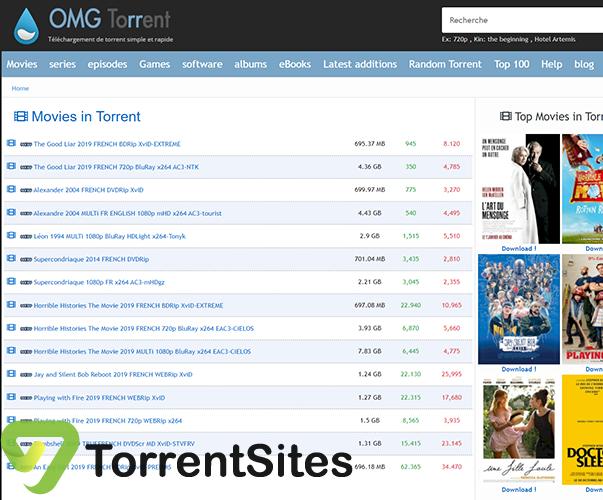 OmgTorrents - https://www.omgtorrent.cz