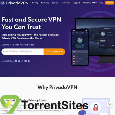PrivadoVPN - https://privadovpn.com