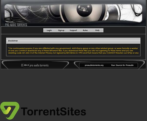 ProAudioTorrents - proaudiotorrents.org