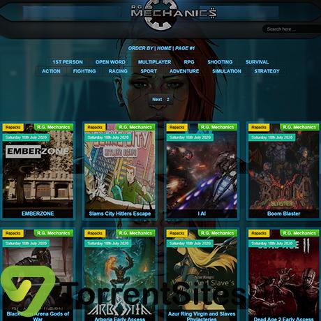 RgMechanicGames - https://rgmechanics-games.com