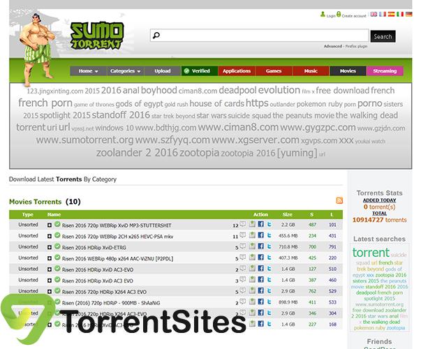 SumoTorrent - sumotorrent.sx
