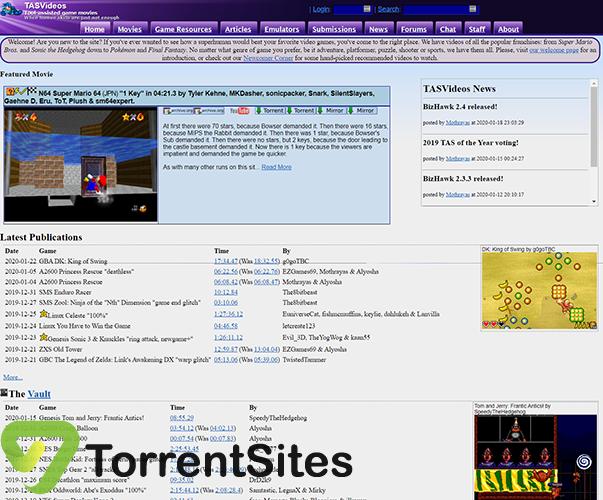 TASVideos - tasvideos.org