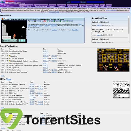 TASVideos - http://tasvideos.org