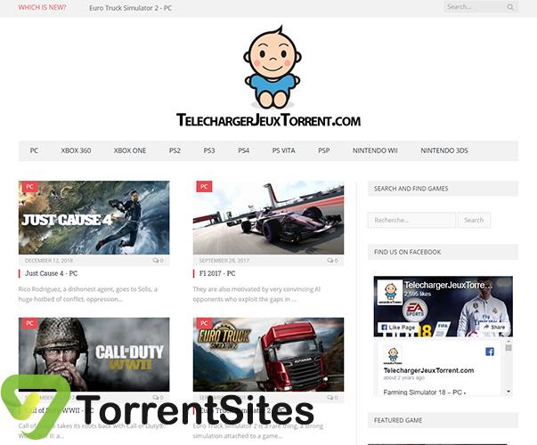 Jeux Torrent - telechargerjeuxtorrent.com