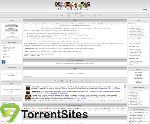 Genesis-Movement - torrent.genesis-movement.org