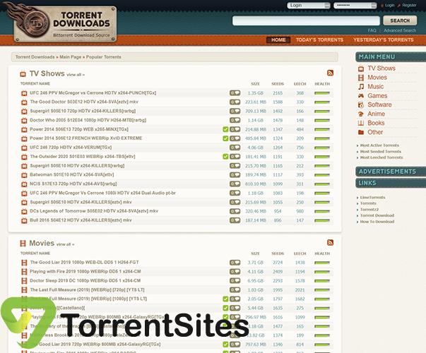 TorrentDownloads - https://www.torrentdownloads.me