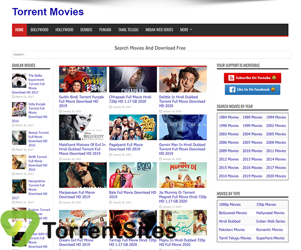 TorrentMovies - https://torrentmovies.co