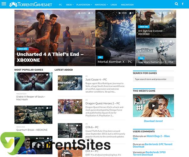 Torrent Games - torrentsgames.net