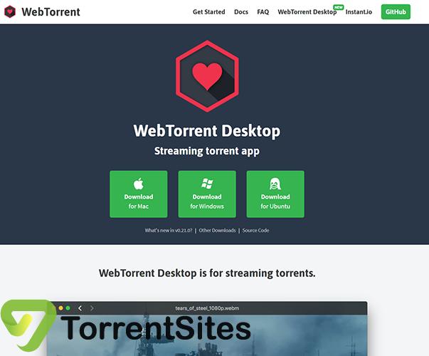 WebTorrent Desktop - webtorrent.iodesktop