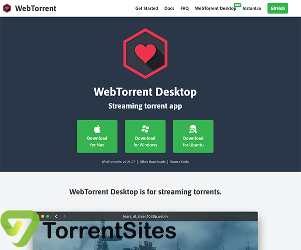 WebTorrentDesktop - https://webtorrent.io