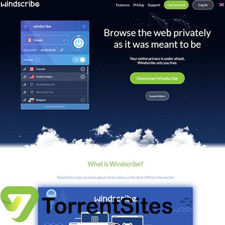 Windscribe - http://torrentsites.me