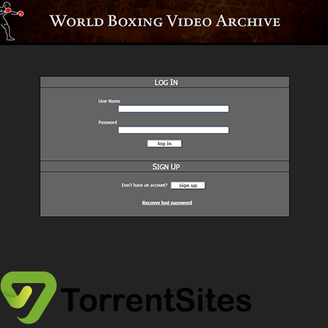 WorldBoxingVideoArchive - http://worldboxingvideoarchive.com