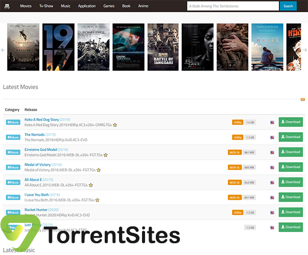 101 Torrent - www2.01torrent.net?utm_campaign=free-traffic&utm_source=solutions-softonic-com&utm_medium=referral